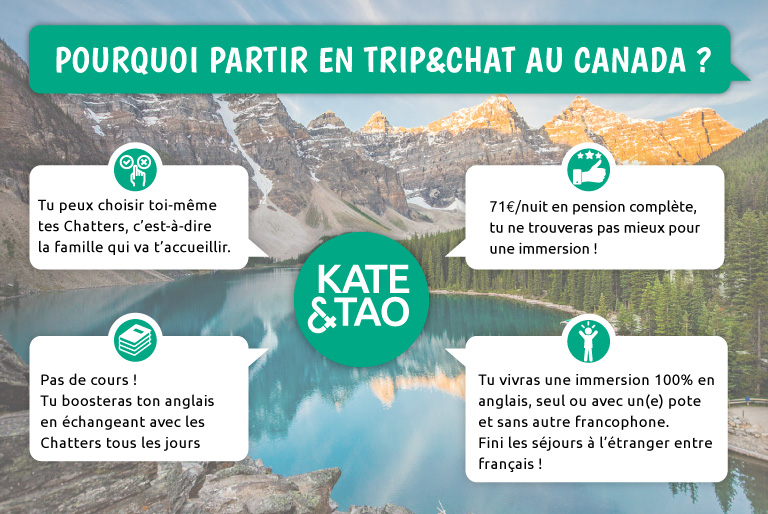 partir en immersion à l'étranger; pourquoi choisir le Trip&Chat