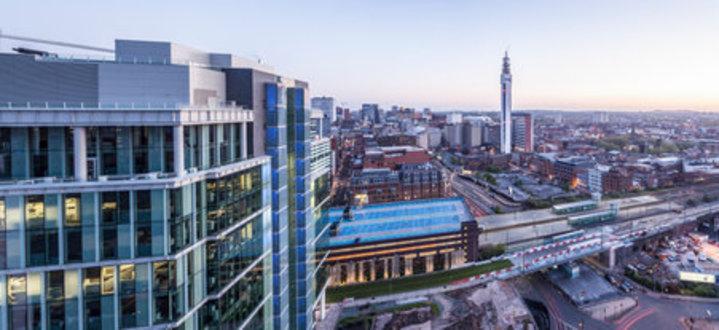 Partir en Angleterre à Birmingham